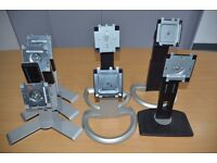 Various Dell monitor stands - 2007, 2007, 2407, 1708, 1908, U2012H, U2212H, U2312H, 1905, 1707, 1907