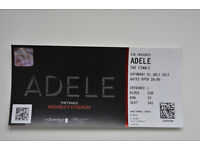 Adele The Finale Ticket