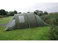 Eurohike Buckingham 6 - 4+2 berth tunnel tent