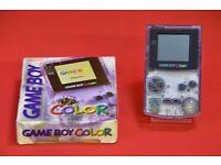 Nintendo Gameboy Color Atomic Purple Boxed £60
