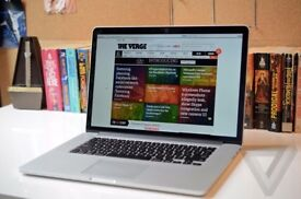 Macbook Pro Retina 2013 15 inch , i7 - 8GB - 256 GB . office , adobe