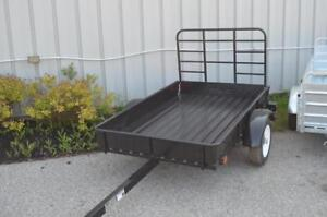 New 4x6 Mighty Multi Utility Trailer! Steel or Galvanized 5x7 Mighty Multi Utility Trailers Also Available!