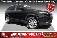 2014 Jeep Cherokee Limited 2014! Best Price in NB! New Tires! Le