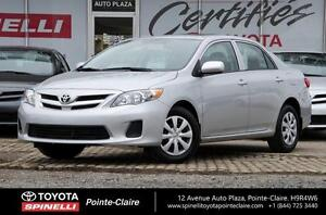 2013 Toyota Corolla D PKG +TOIT SIEGES CHAUFFANT VERY LOW KM