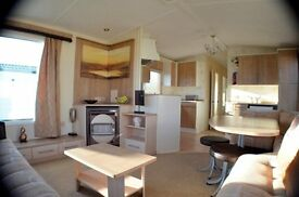 Dumfries and Galloway - Caravan For Sale with Decking - Right On Solway Coast - Near Ayr - Carlisle