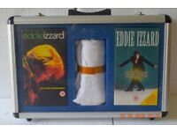 Signed Eddie Izzard Box Set with t-shirt