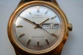 Timex automatic mechanical wristwatch - Assembled in GB - '79 - Vintage - GP