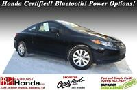 2012 Honda Civic Coupe LX AMAZING VALUE!!! Honda Certified! Blue
