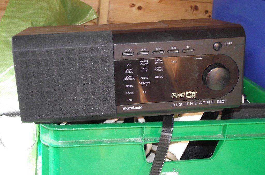 Pure DTS surround sound 5.1 system