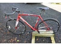 Cyclocross, commuter bike, new/ex-display/unridden, 2015, 54cm, alloy/carbon
