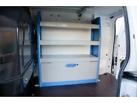 Storage Shelf to fit a Transit Connect Long Wheelbase Van