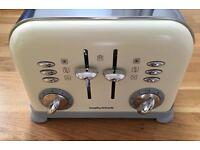 Morpy Richards Accents 4 slice toaster