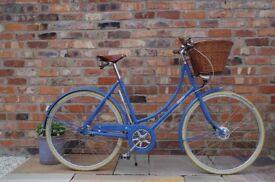 Pashley Poppy ladies bike in Power Blue