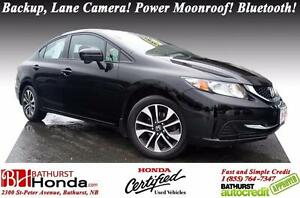2015 Honda Civic Sedan EX Honda Certified! Power Moonroof! Heate