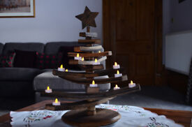 Whisky Barrel Stave Christmas Tree Exclusive one off