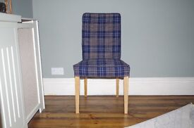 Ikea dining room chairs x 4 (Hendrikskal range). Excellent condition.