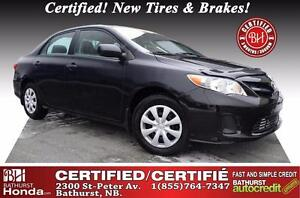2012 Toyota Corolla CE Certified! New Tires & Brakes (Value of $