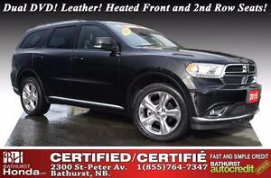 2015 Dodge Durango Limited Certified! Limited Package!! AWD!  Du
