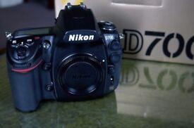 Nikon D700 12.1MP Full Frame Sensor Digital Camera (Body) - Boxed in Excellent condition.