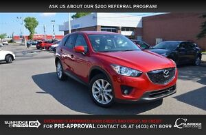 2014 Mazda CX-5 GT, LEATHER, NAVIGATION, SUNROOF