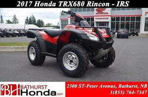 2017 Honda TRX680 Rincon IRS Fully Automatique! Independent Rear
