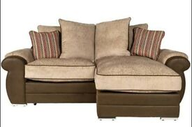 EMBRACE BRAND NEW CHAISE CORNER SOFA FREE DELIVERY
