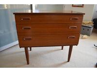 Schreiber retro chest of drawers / dresser - teak g-plan