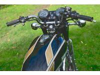 Yamaha XS650 Electric start.