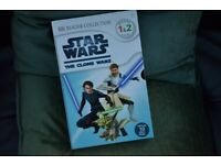 Star Wars - The Clone Wars set of 10 books - reading level 1 & 2