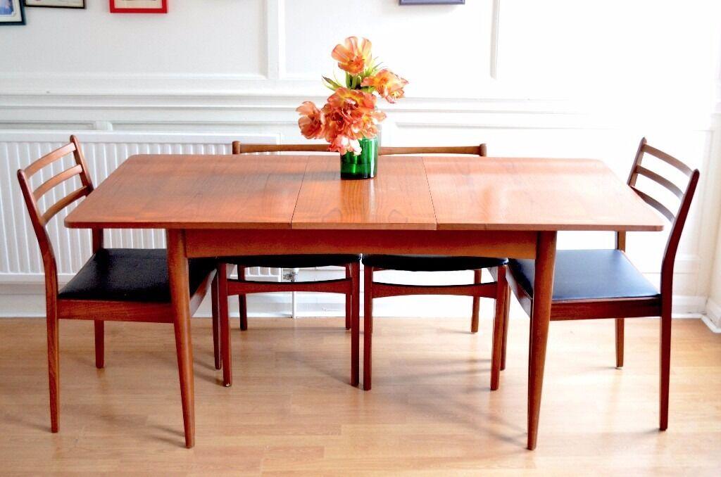vintage teak furniture. vintage g plan extending teak table and chairs delivery modern mid century furniture 9