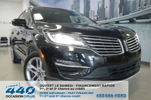 2015 Lincoln MKC | 2.3L ECOBOOST, CUIR, TOIT, NAVIGATION