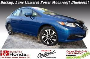 2015 Honda Civic Sedan EX Honda Certified! 1-Owner! No Accident!