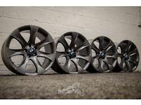 """*Refurbished* 20"""" BMW X5 Style 168 Le Mans Alloy Wheels Gunmetal 5x120"""