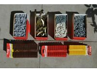 SALE!!! - PLASTERBOARD SELF-DRIVE FIXINGS including SCREWS and RAW PLUGS