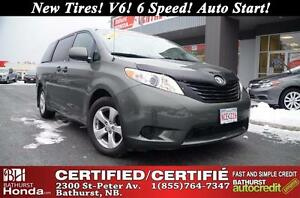 2011 Toyota Sienna Certified! No Accident! New Tires! V6! 6 Spee