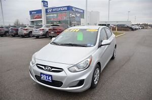 2014 Hyundai Accent GL | Heated Seats | Bluetooth | USB Port