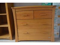 Mammas & Pappas Ocean Dresser with Changer (Golden Oak)