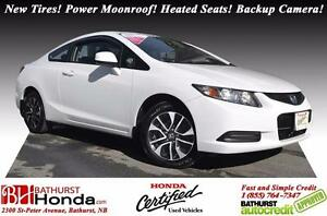 2013 Honda Civic Coupe EX Honda Certified! New Tires! Power Moon