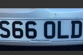 Private registration S66OLD (GOLD,SOLD,OLD)