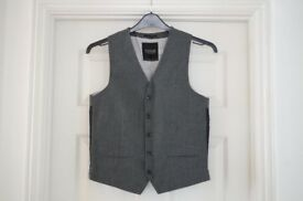 Top Man Waistcoat and Trousers - Grey