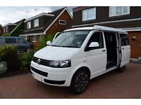 vw t5 camper 2015 as new ex low miles 1700, sun canopy flip roof ,20''alloys fully fitted