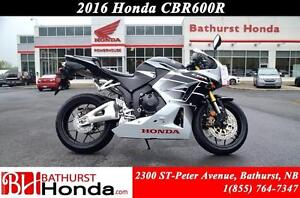 2016 Honda CBR600 Racy Performance! Strong Spark! Smooth Respons