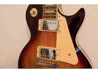 Tabacco Sunburst Les Paul Electric Guitar (copy) - excellent condition