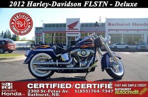 2012 Harley-Davidson FLSTN Softail Deluxe 1688cc Certified!