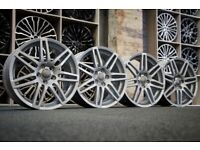 "*Refurbished* Genuine 18"" Audi A3 S-Line 'Le Mans' Alloy Wheels 5x112 8P0601025BA VW/Skoda/Seat"