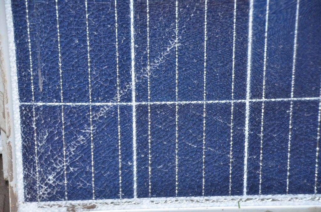 big solar panels. 270 watts