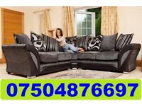 BRAND NEW FABRIC CORNER OR 3+2 SOFA + DELIVERY