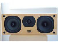 Quad L Centre Speaker in Birds Eye Maple