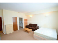 NW1: Large Studio in Camden - BILLS included, NW1 9QS