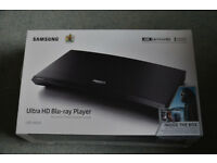 SAMSUNG ULTRA HD 4K BLU RAY PLAYER BRAND NEW